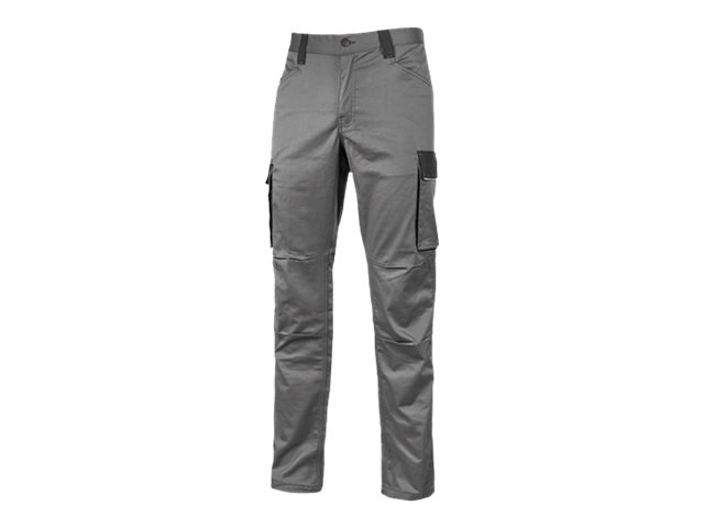 Pantalon de travail gris - Taille 3XL - Happy Crazy U-Power