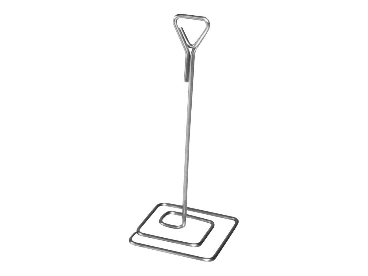 Bequet - 3 Pieds inox porte-étiquette - hauteur : 15 cm