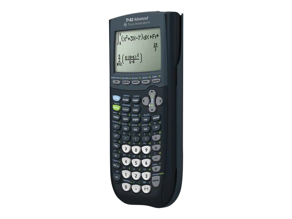 Calculatrice graphiqueTI-82 Advanced - mode examen intégré