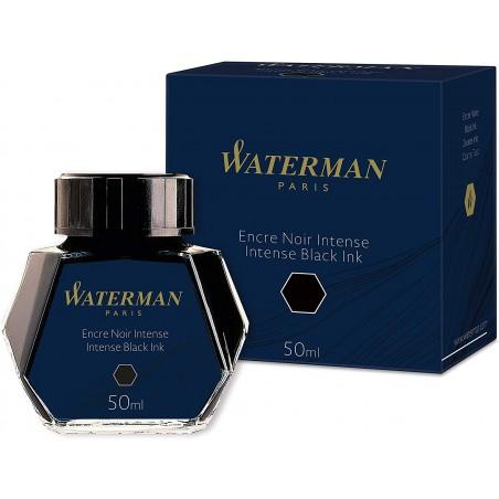 Waterman - Flacon d'encre 50ml pour stylo plume - noir
