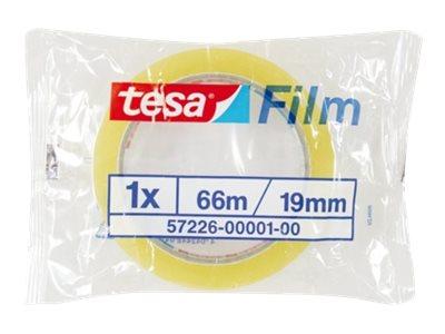 Tesa - Ruban adhésif transparent - 19 mm x 66 m