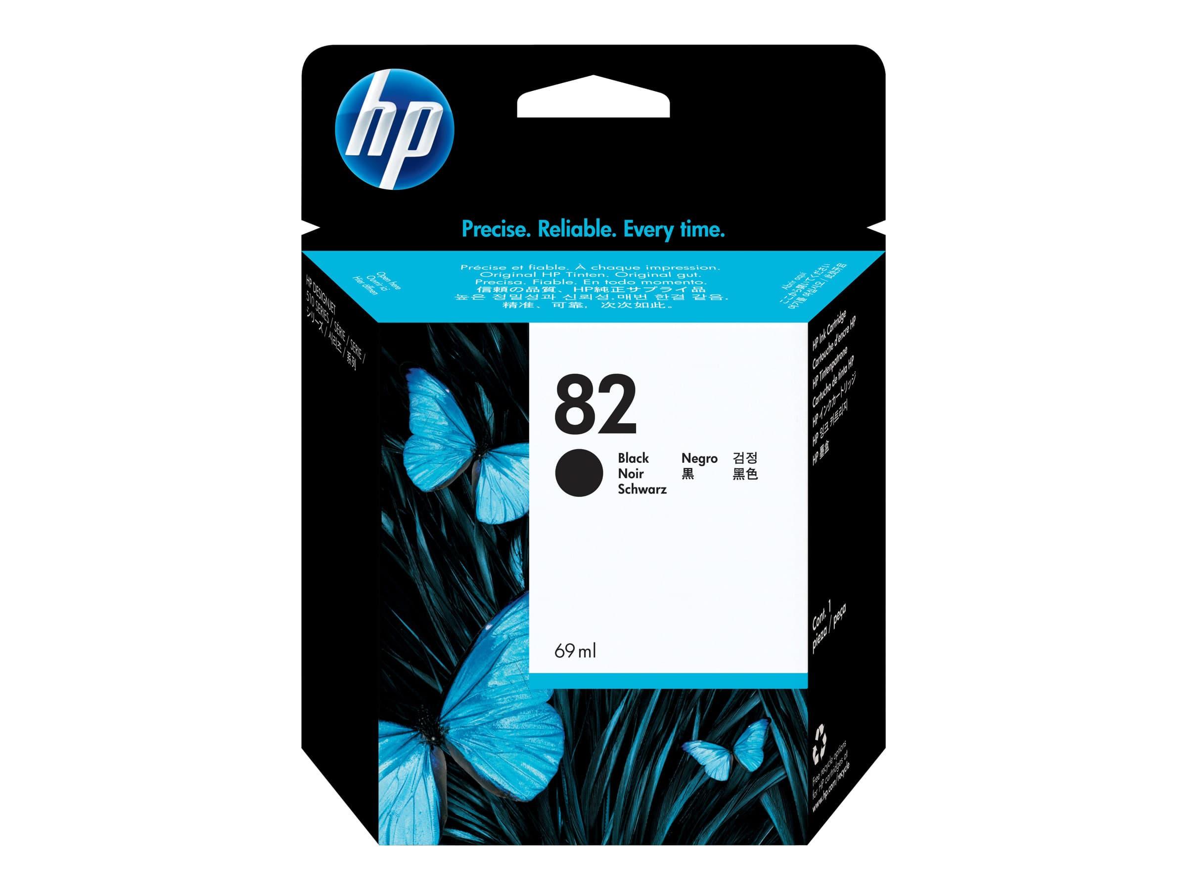 HP 82 - noir - cartouche d'encre originale