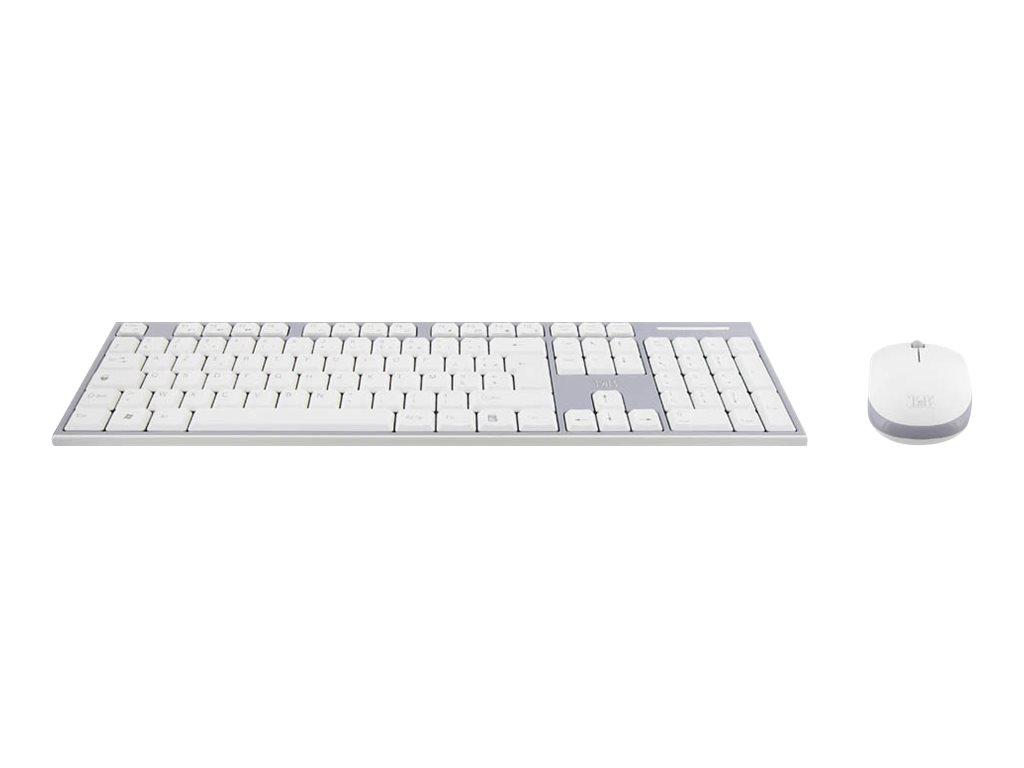 T'nB CLASSY WIRELESS COMBO - ensemble clavier et souris - gris