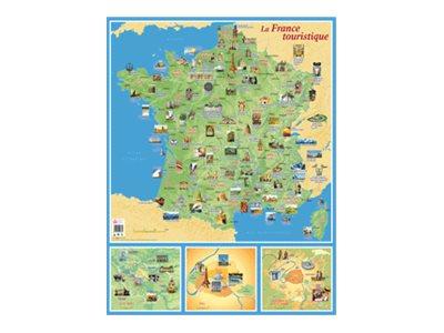 CBG - Carte souple France tourisme - 660 x 845 mm