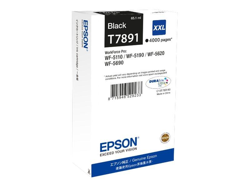 Epson T7891 - noir - cartouche d'encre originale