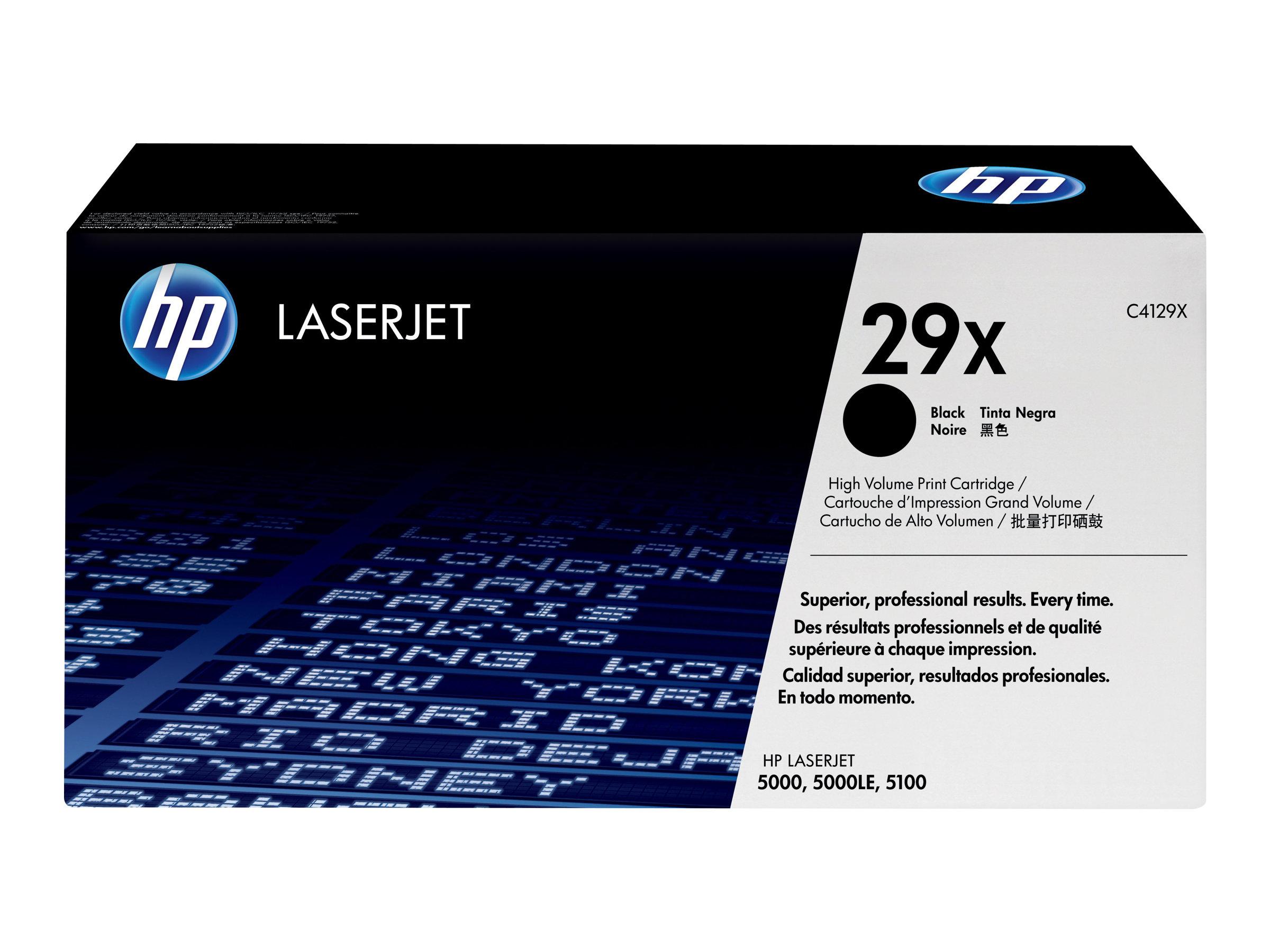 HP 29X - noir - toner LaserJet d'origine - cartouche laser