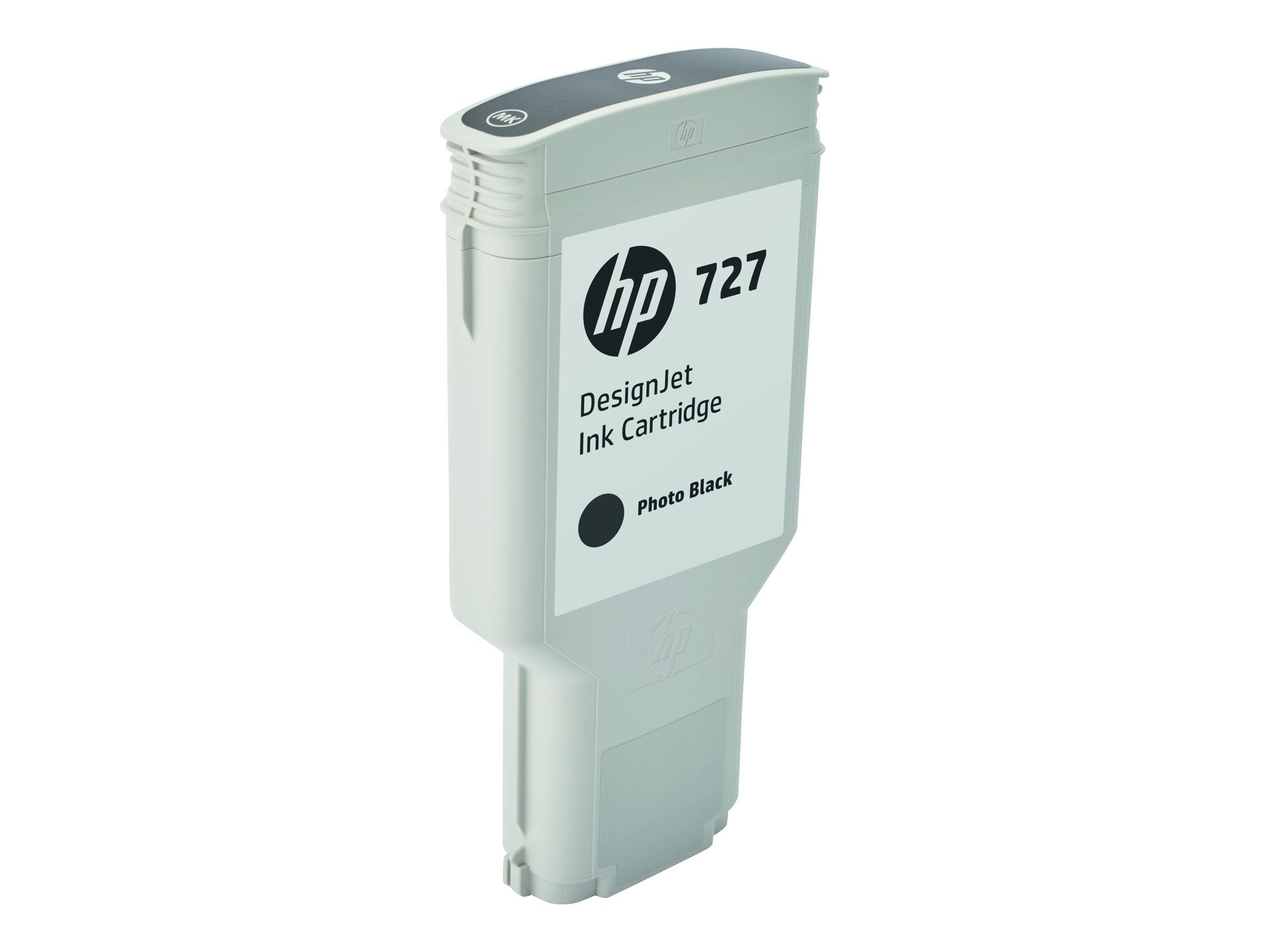 HP 727XL - noir photo - cartouche d'encre originale