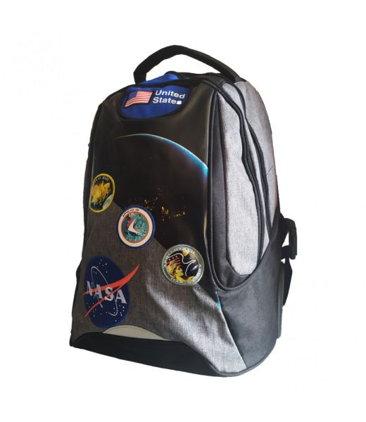 NASA - Sac à dos à roulettes 47 cm - 2 compartiments - Bagtrotter