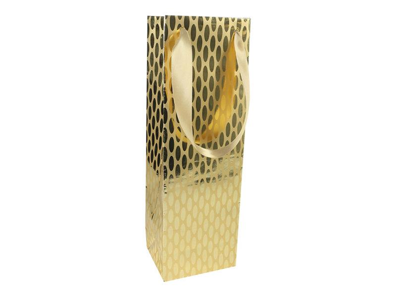 Clairefontaine Premium - Sac cadeau pour bouteille - 12,5 cm x 9,5 cm x 38 cm