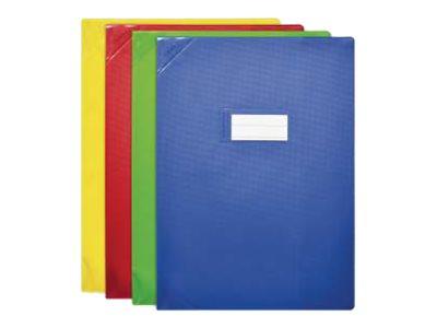 Oxford Strong Line - Protège cahier avec rabats - 17 x 22 cm - disponible dans différentes couleurs opaques