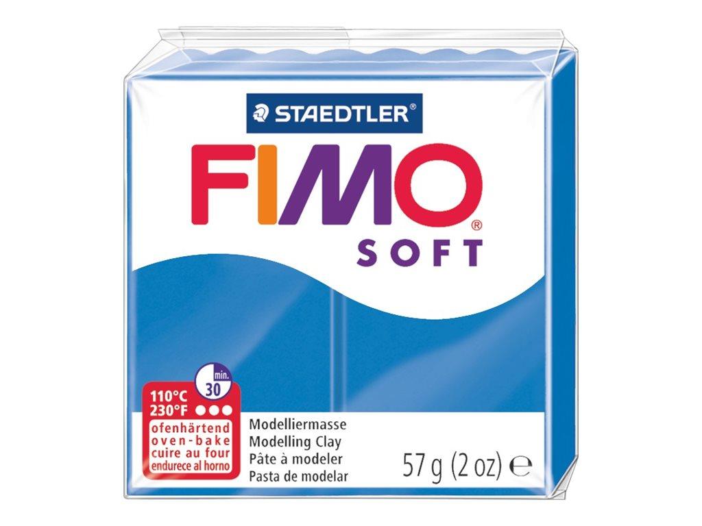 Pâte Fimo Soft-  bleu calypso - 57G