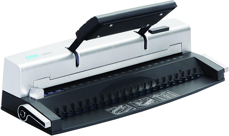 DSB CB-60 - machine à relier / relieuse perforeuse manuelle - Perfore 8 feuilles - relie 110f