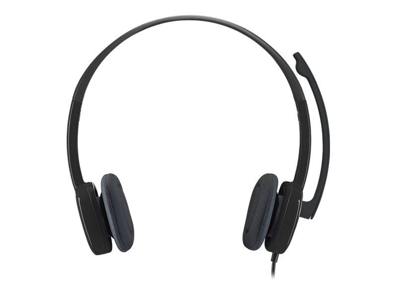 Logitech Stereo H151 - casque filaire avec micro