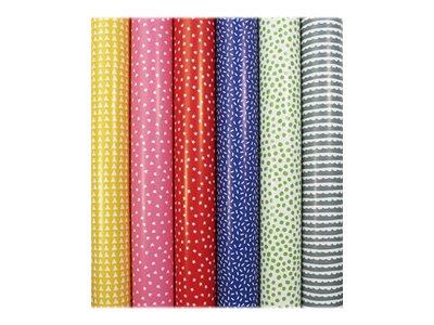 Clairefontaine Alliance - Papier cadeau - 70 cm x 2 m - 60 g/m² - motif bonbons