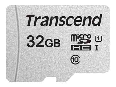 Transcend 300S - carte mémoire 32 Go - Class 10 - micro SDHC UHS-I U1