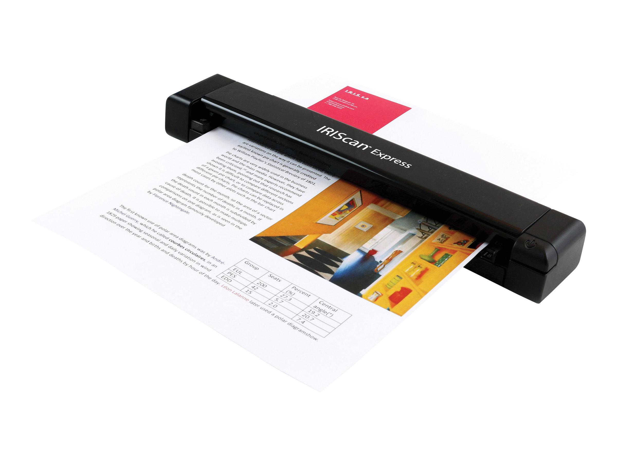 IRIScan Express 4 - scanner de document A4 - portable - USB