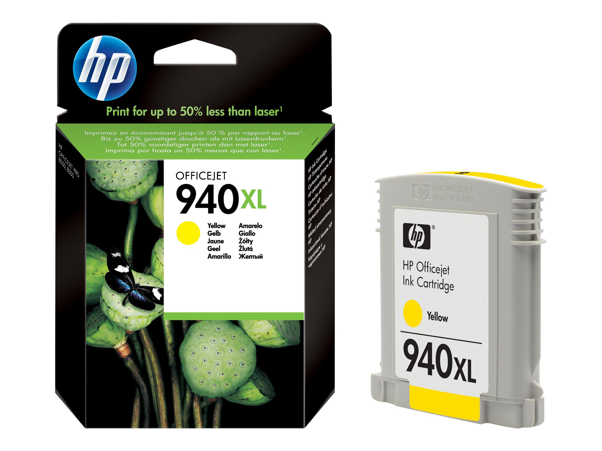 HP 940XL - jaune - cartouche d'encre originale