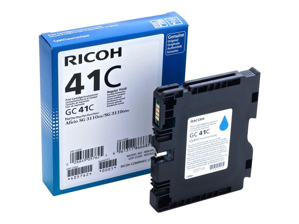 Ricoh GC 41 XL- cyan - cartouche d'encre originale