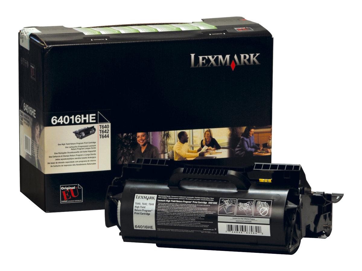 Lexmark 64016HE - noir - cartouche laser d'origine