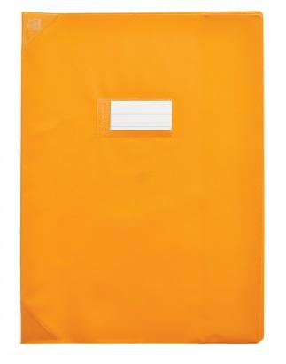 Oxford Strong Line - Protège cahier sans rabat - 24 x 32 cm - orange opaque