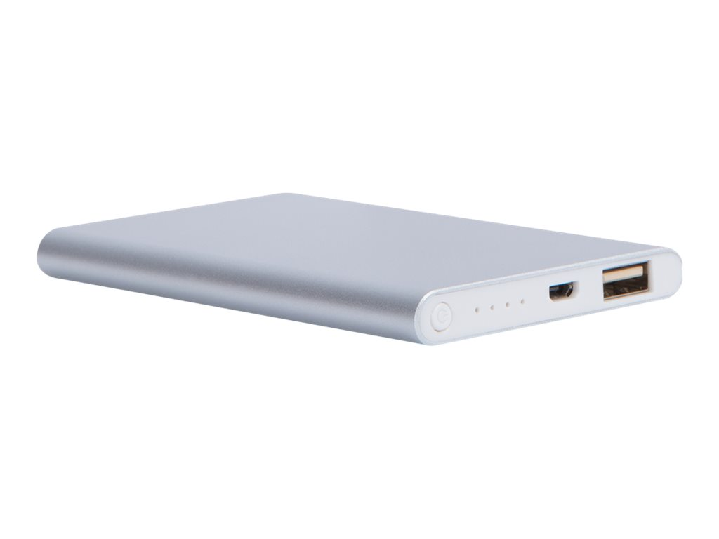 BigBen WOW - powerbank / batterie de secours rechargeable pour smartphone - 4000 mAh
