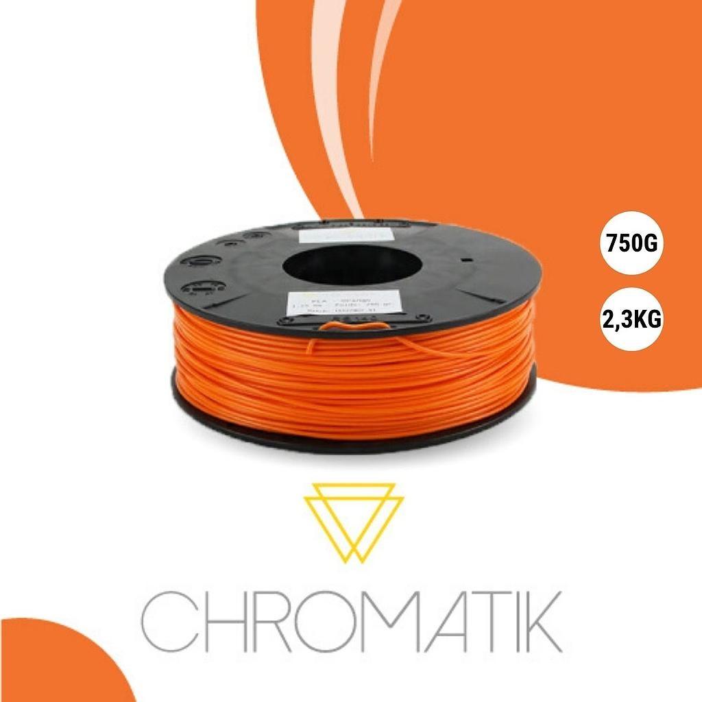 Dagoma Chromatik - filament 3D PLA - orange - Ø 1,75 mm - 750g