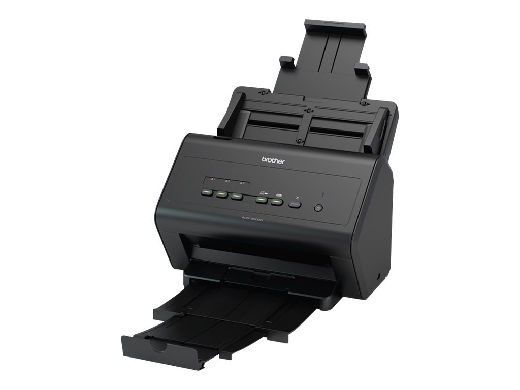 Brother ADS -3000N - scanner de documents A4 - 600 ppp x 600 ppp - 50ppm