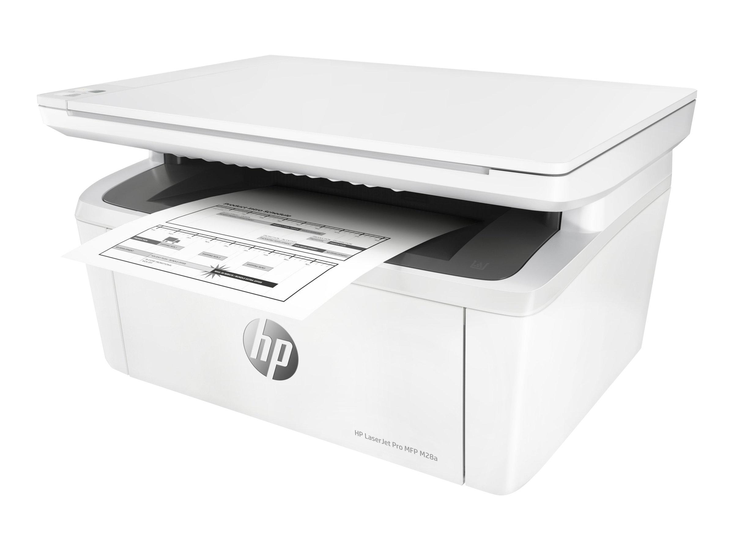 HP LaserJet Pro MFP M28a - imprimante laser multifonctions monochrome A4