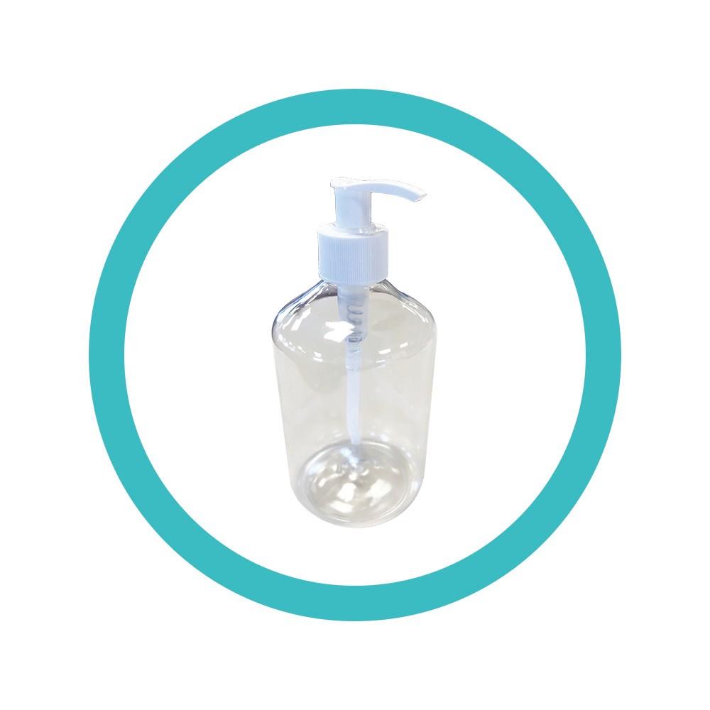 Flacon de gel hydroalcoolique 500ml