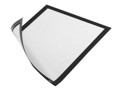 Durable Duraframe Magnetic - Cadre d'affichage magnétique - A4 - noir - pour surfaces métalliques