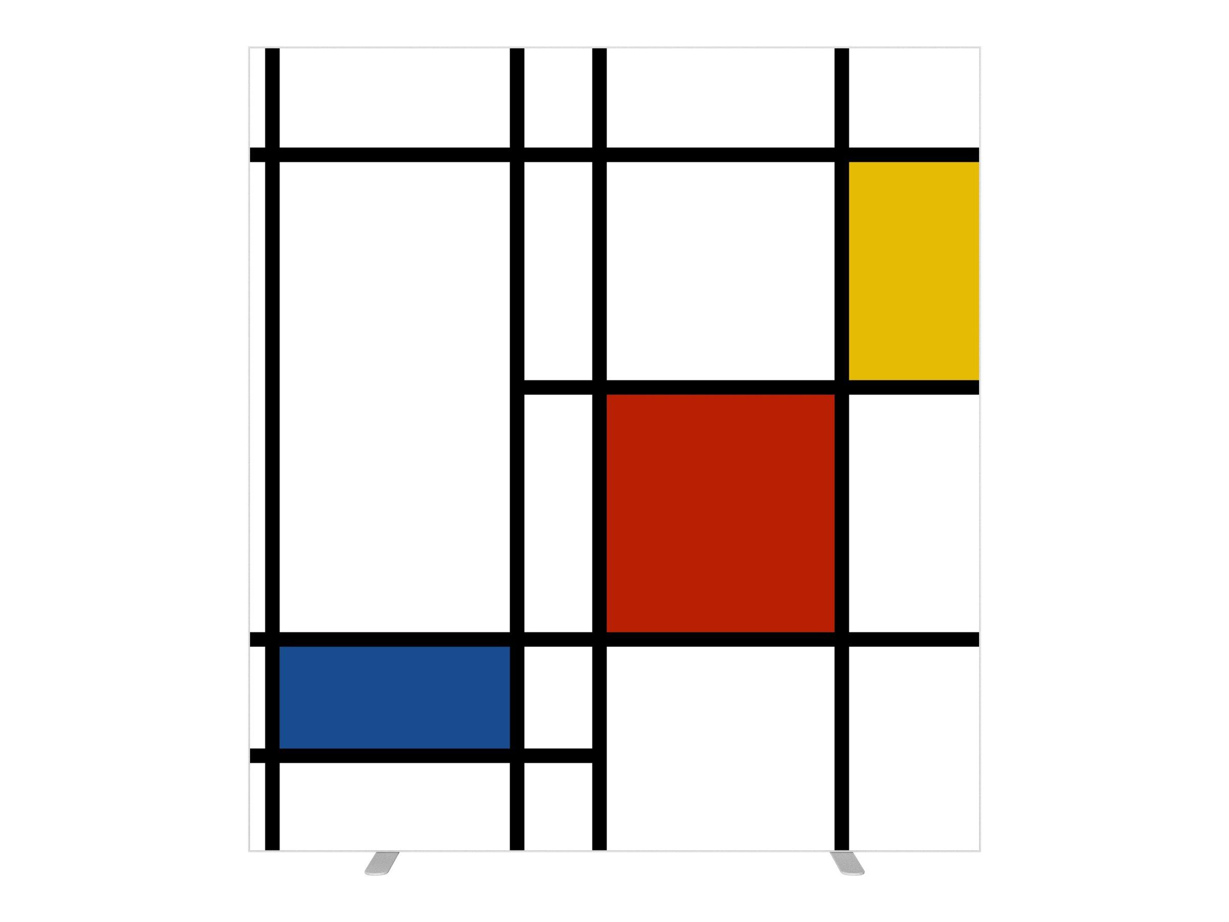 Cloison de séparation EASYSCREEN - L160 x H174 cm - mondrian