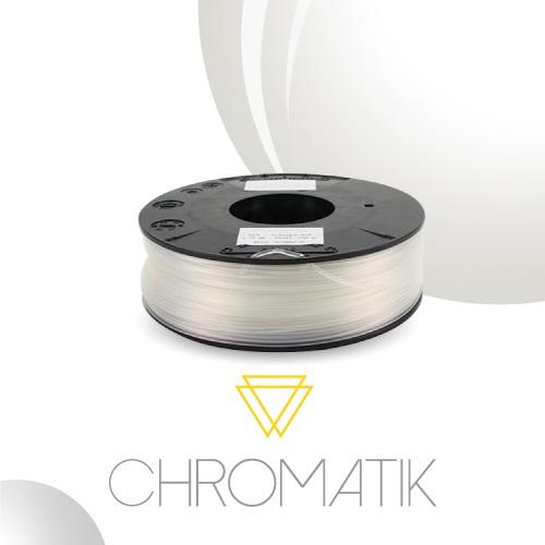Dagoma Chromatik - filament 3D PLA - transparent - Ø 1,75 mm - 750g