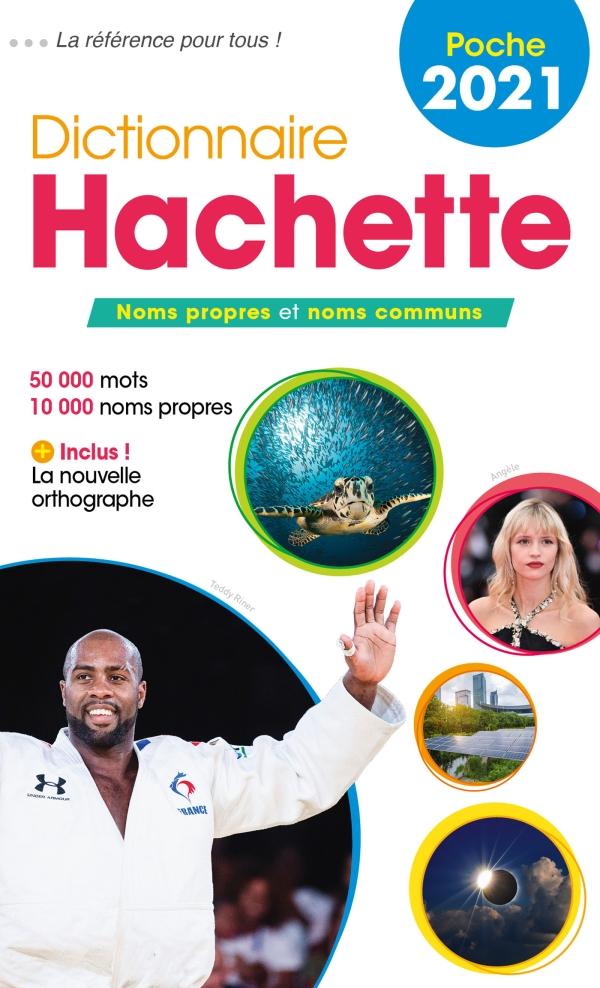 Hachette Dictionnaire de poche Français 2021