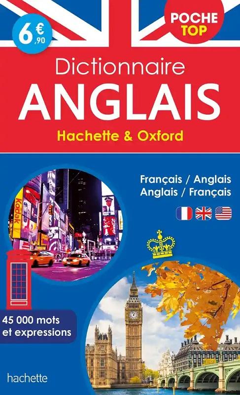 Hachette Oxford Dictionnaire de poche top bilingue Anglais/Français