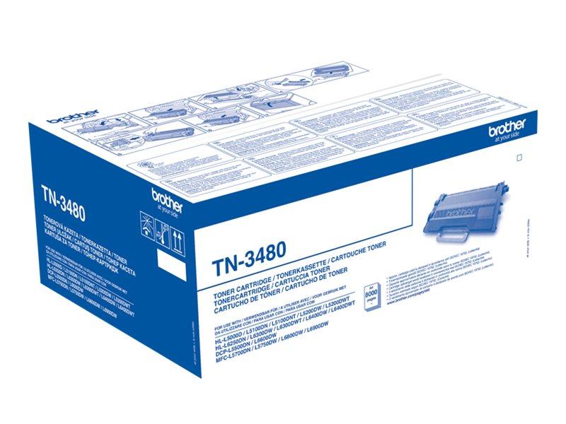 Brother TN3480 - noir - cartouche laser d'origine