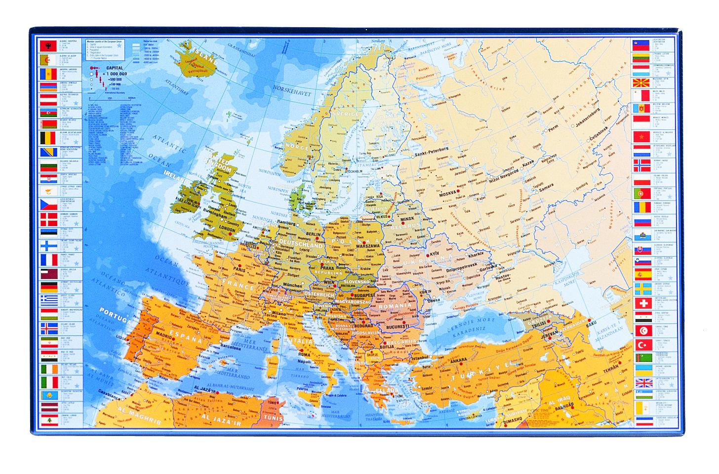Viquel - Sous-main Géographie - 59,8 x 36,5 cm