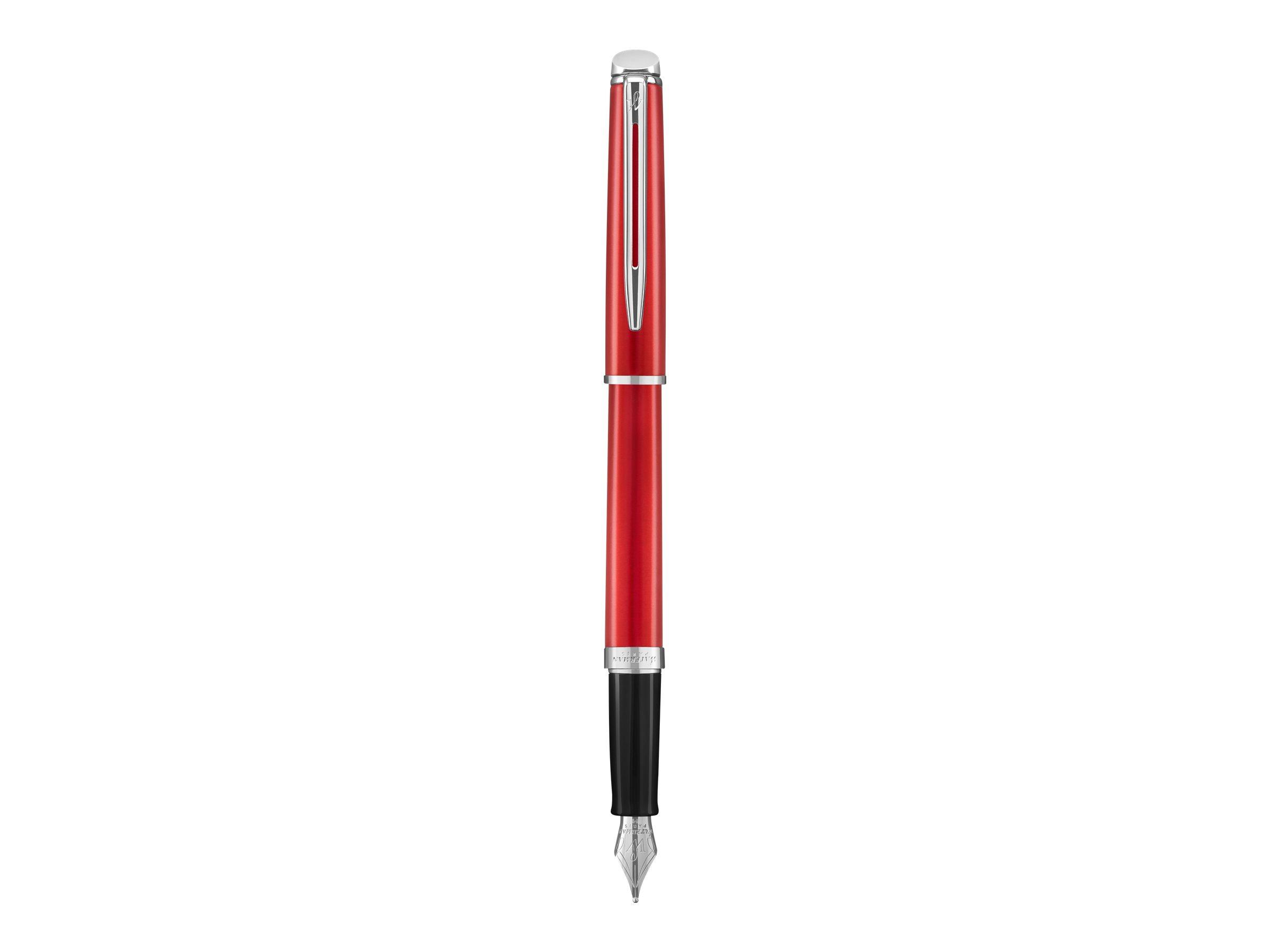 Waterman Hemisphere - Stylo plume rouge - pointe moyenne