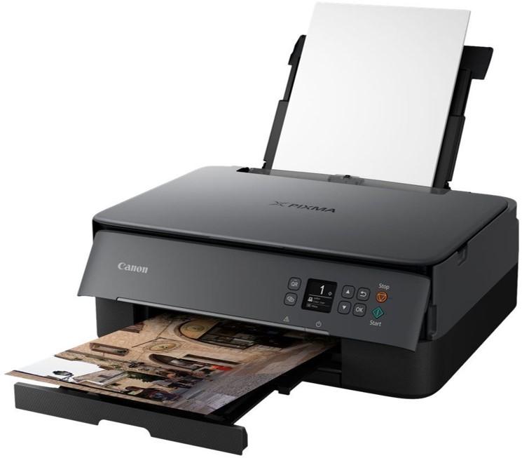 Canon PIXMA TS5350 - imprimante multifonctions jet d'encre couleur A4 - Wifi, Bluetooth, USB - recto-verso - noir