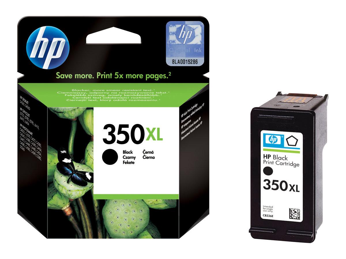HP 350XL - noir - cartouche d'encre originale