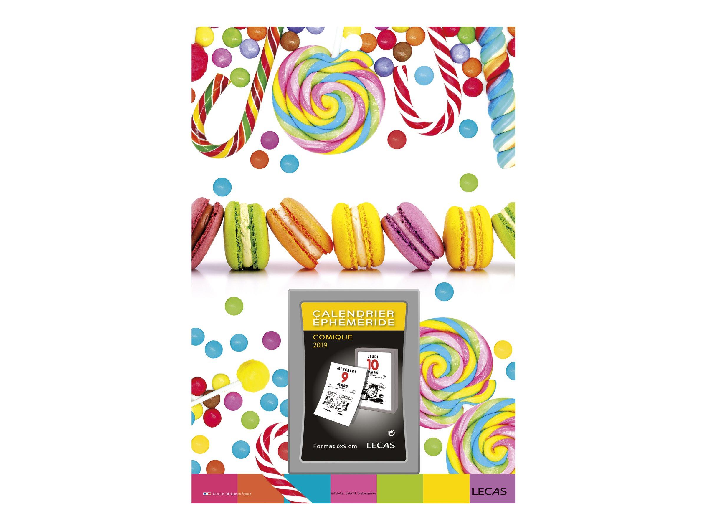 Lecas Sweet - Plaque avec bloc éphéméride humoristique - 17 x 25 cm - disponible dans différents modèles