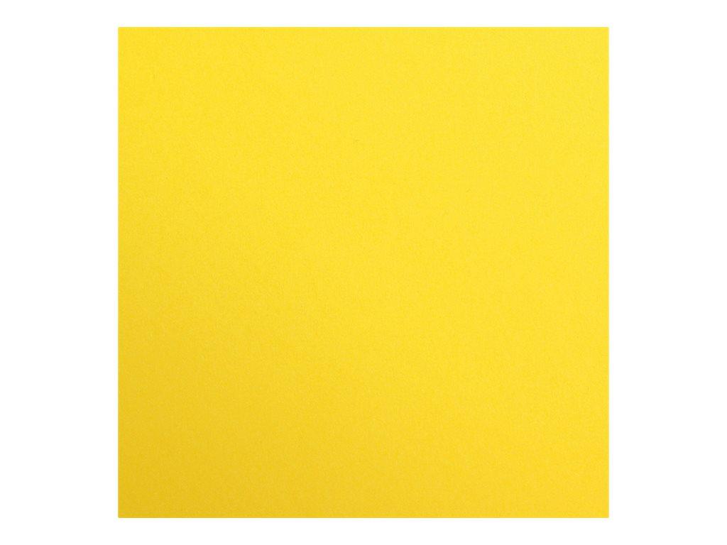 Clairefontaine Maya - Papier à dessin - 50 x 70 cm - 270 g/m² - jaune soleil