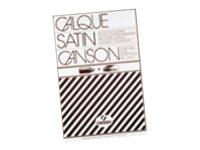 Canson - bloc dessin calque - 50 feuilles - A4 - 90G - blanc