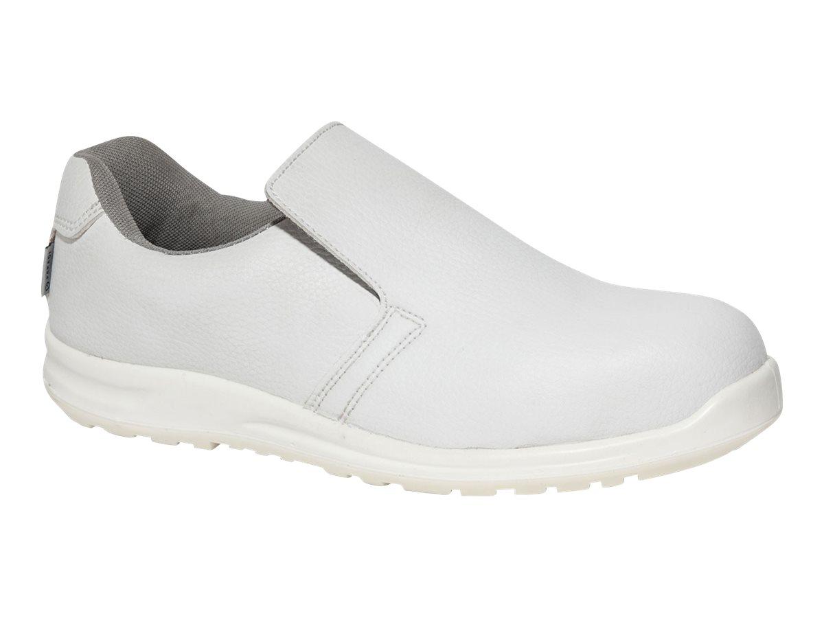 Chaussures de sécurité sabots blancs H/F S2 SELF 38