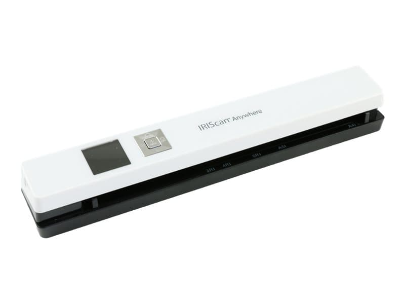 IRIS IRIScan Anywhere 5 - scanner de documents A4 - portable - 1200 ppp x 1200 ppp - blanc