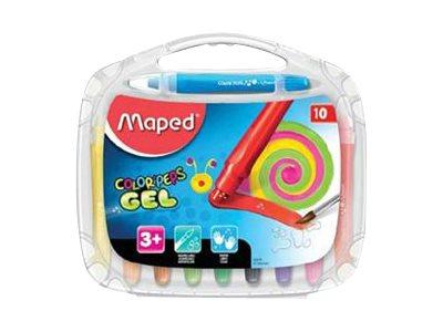 Maped Color'Peps - 10 Crayons aquarellables cire