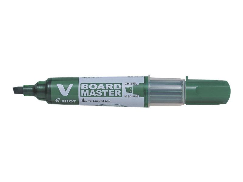 Pilot V BOARD MASTER - Marqueur effaçable - pointe biseau - vert