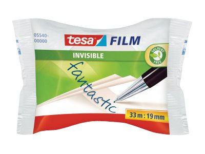 Tesa - Ruban adhésif invisible en boîte - 19 mm x 33 m