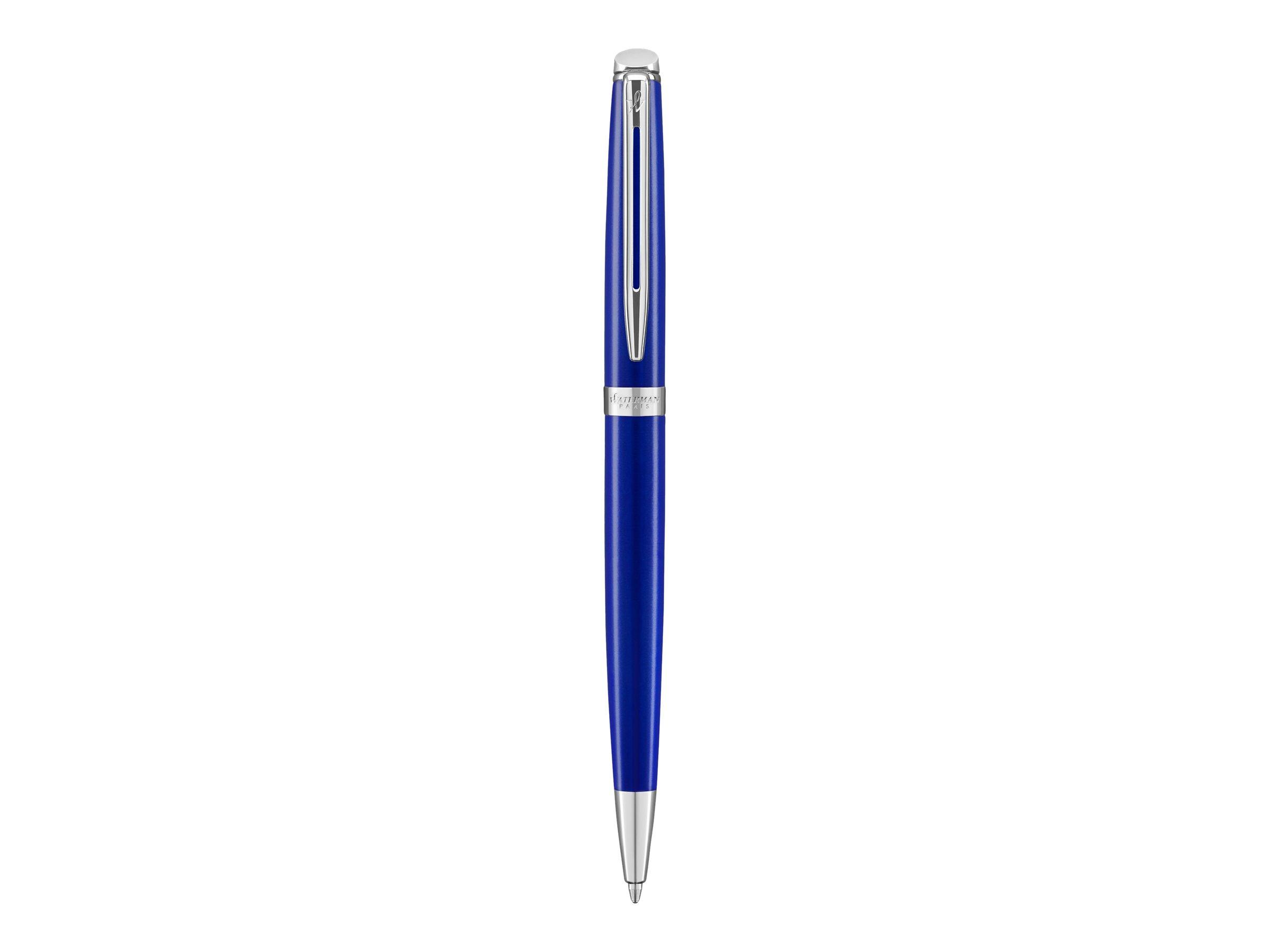 Waterman Hemisphere - Stylo à bille bleu - pointe fine