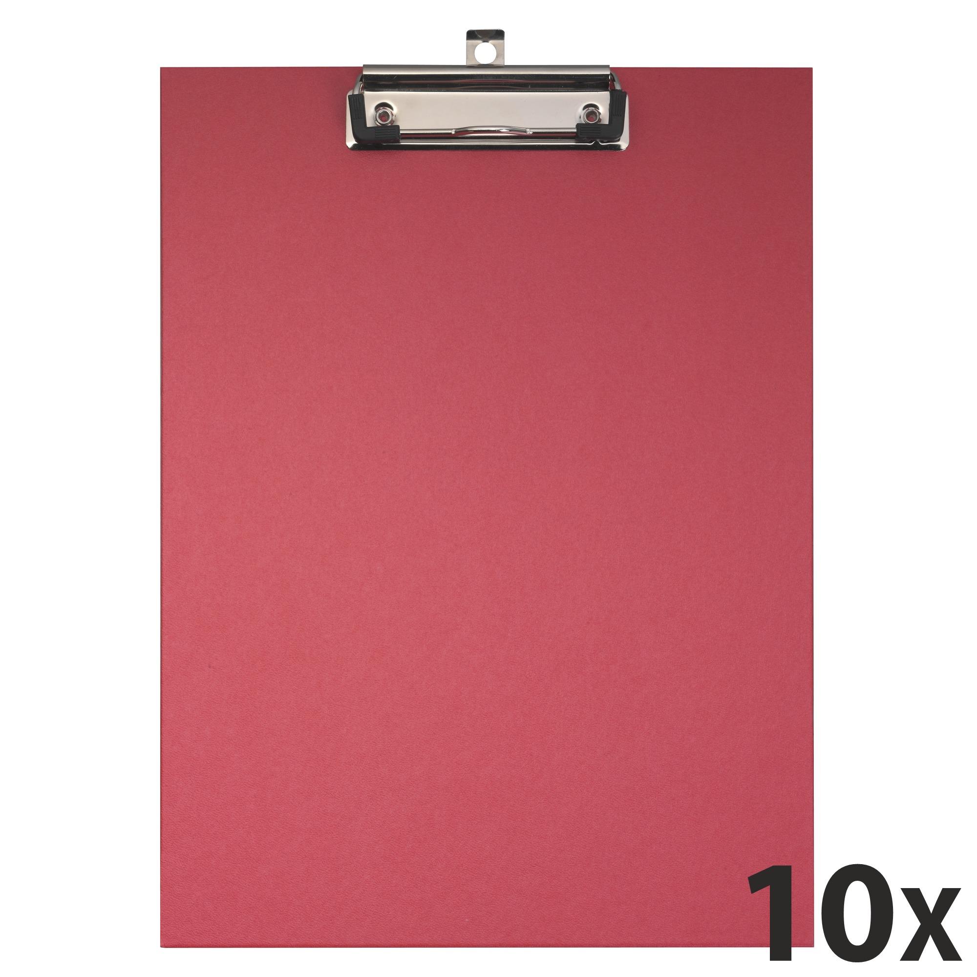 Exacompta - 10 Porte blocs - A4 - rouge