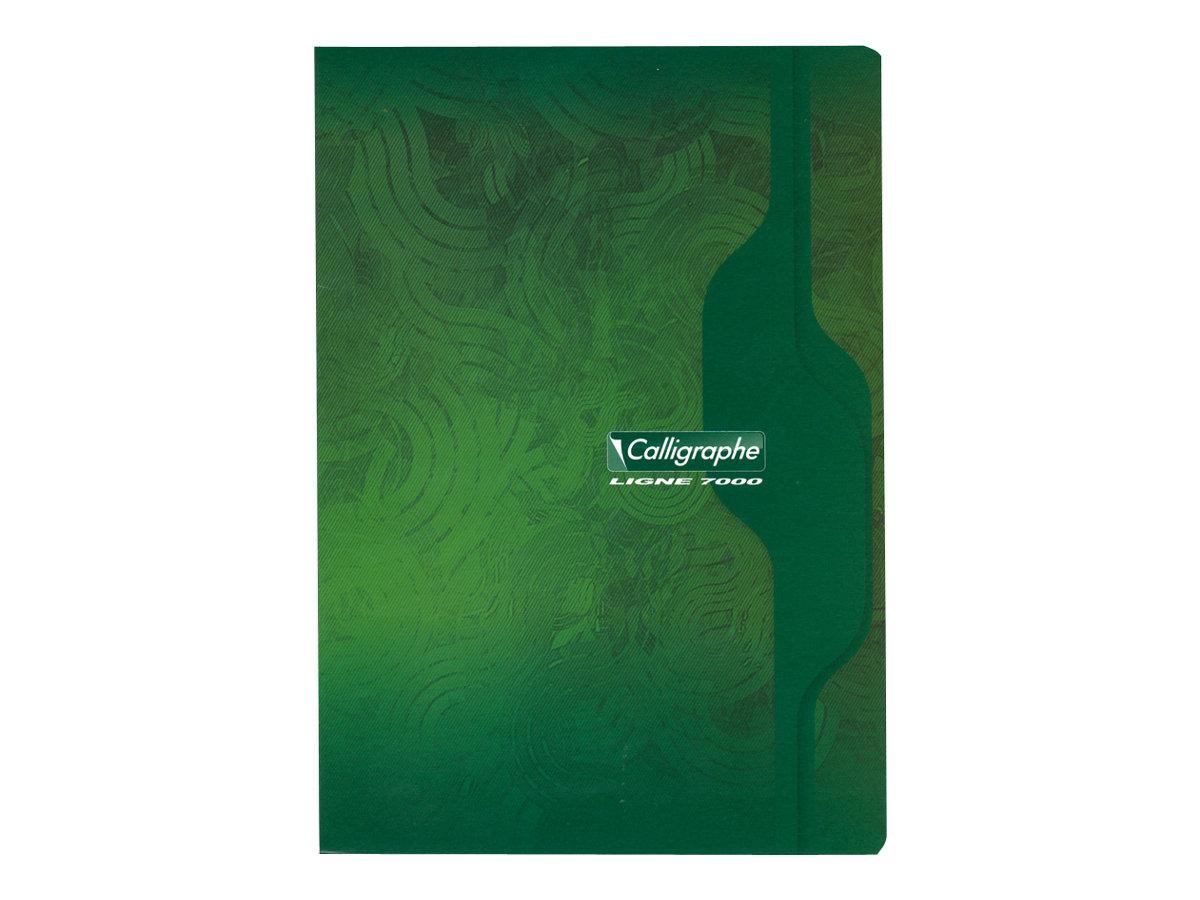 Calligraphe 7000 - Cahier A4 (21x29,7 cm) - 96 pages - petits carreaux (5x5 mm) - disponible dans différentes couleurs
